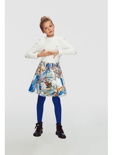 Lia Lea Kız Çocuk Desenli Etek 20Fwll07283 Renkli
